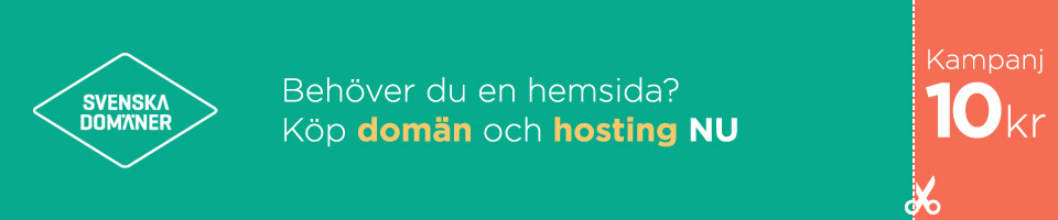 Skapa din egen hemsida - Svenska Domäner