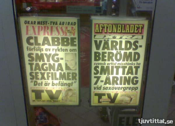 Idol Clabbe Aftonbladet Expressen sexfilmer