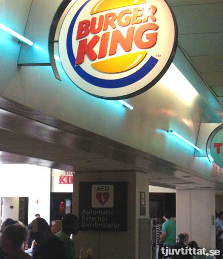 Burger King Chicago defilibrator
