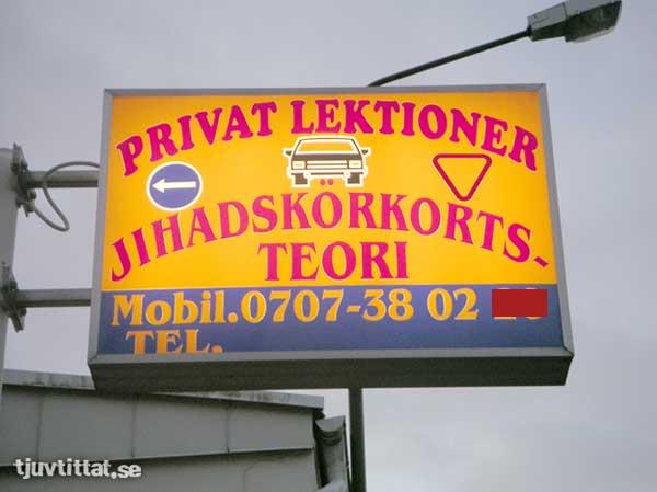 Körskola Malmö Jihad
