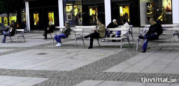 Göteborg bänkar ensam