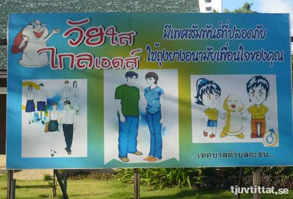 Kondom barn Thailand kompis