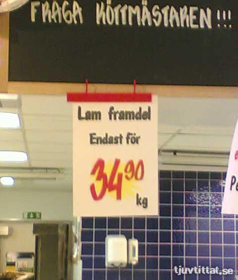 Lam Framdel Lamm Vi