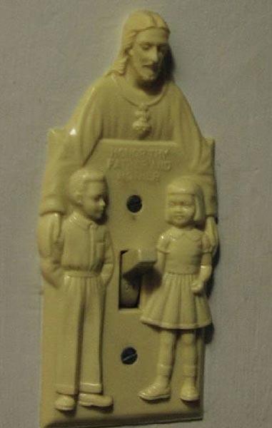 Jesus lampa penis barn