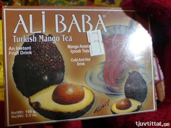 Turkiskt mango-te?