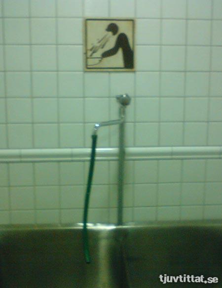 Spy toalett skylt krakow polen