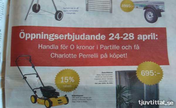 Charlotte Perelli Gratis reklam