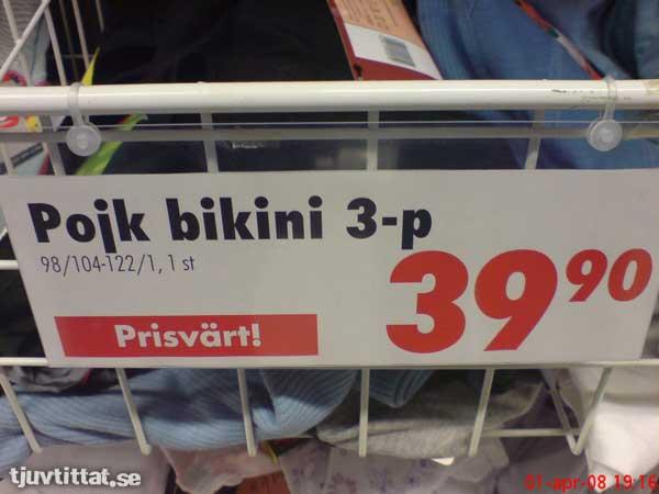 Pojk bikini konsum sollefteå