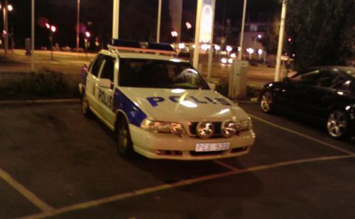 Polis, parkering, MAX, Skellefteå, FAIL