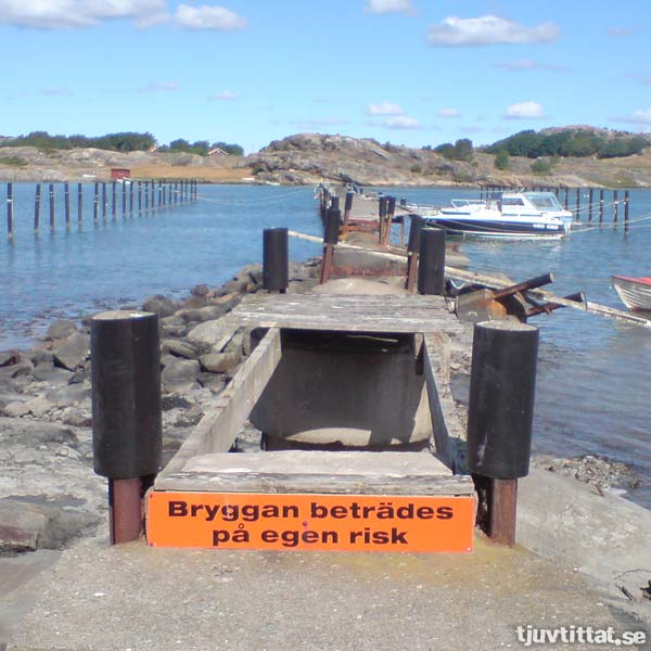 Bron som Nollvisionen glömde har en syster vid kusten…
