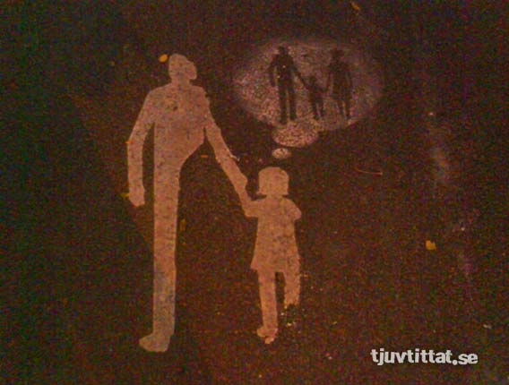 mamma pappa barn gatukonst Göteborg