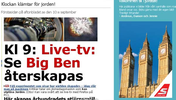 Big Ben Reklam Sterling Meta tur