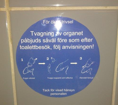 Mcdonalds Borås ollon förhud lapp