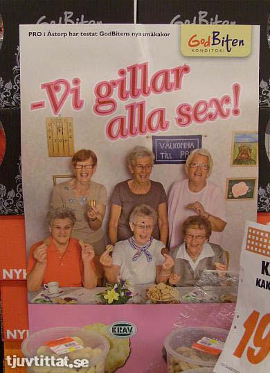 mormor gillar sex Knutby reklam