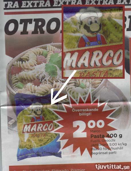 Super Marco Pasta - Glöm inte svampstuvningen!