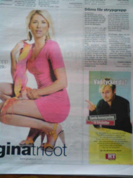 Hudikvalls tidning annons gina tricot