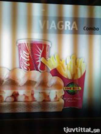 Viagra combo - Ståndaktig snabbmat!