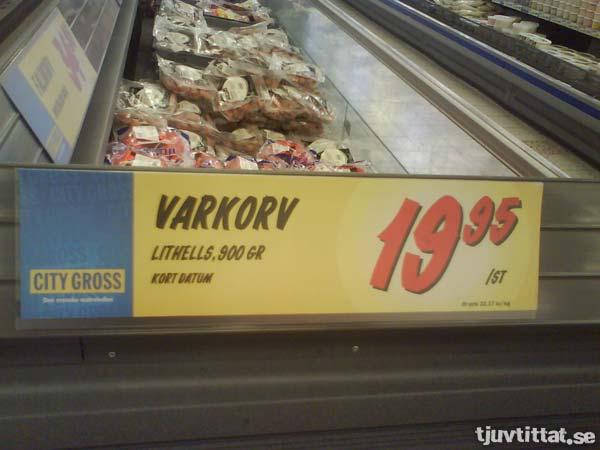 Varkorv