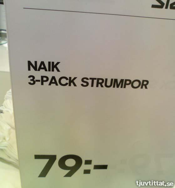 NAIK - När Ribok inte är sportigt nog...