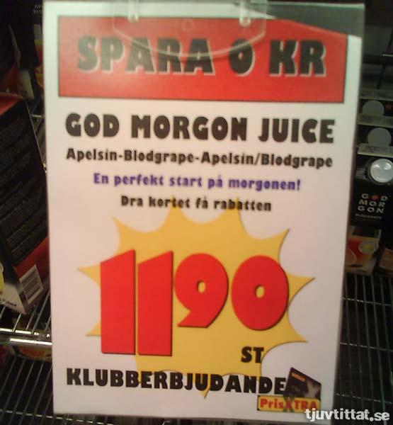 Klubberbjudande: Spara 0 kronor!