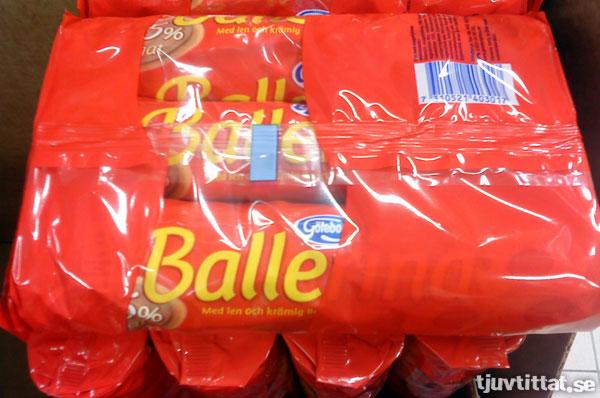 Balle - Med len och krämig...