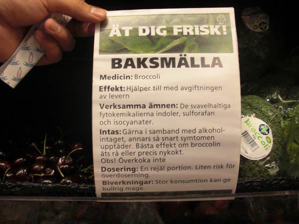Ät dig frisk: broccoli mot baksmälla