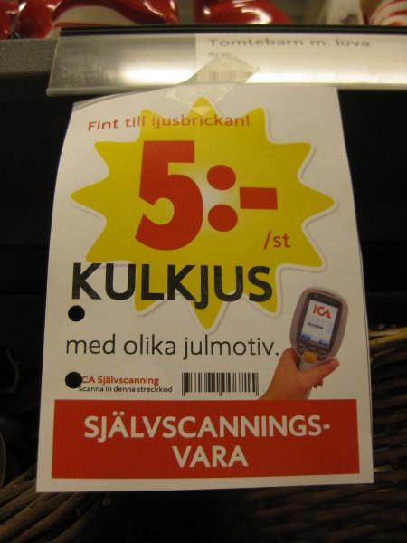 KULKJUS 5 kronor