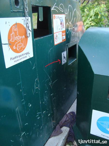 Återvinninghandikappade