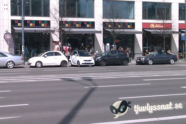 Smart parkering