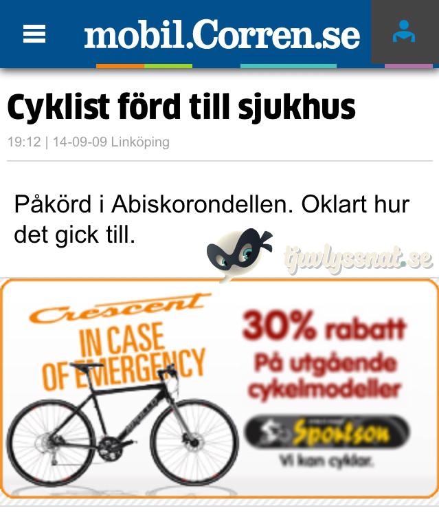 Cykel In Case Of Emergency