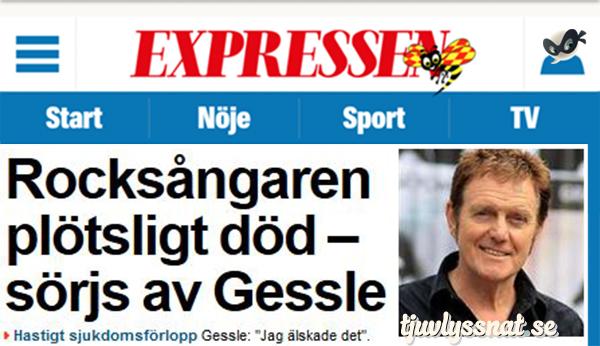 Gessle älskade det