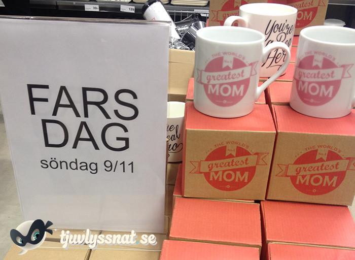 Fars dag: No. 1 greatest mom!