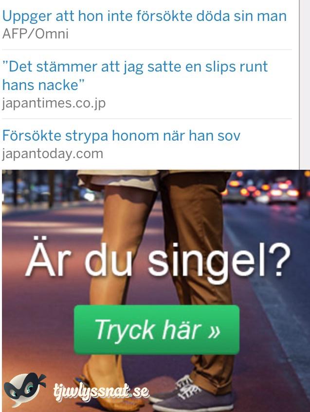 Är du singel?