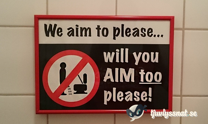 We aim to please